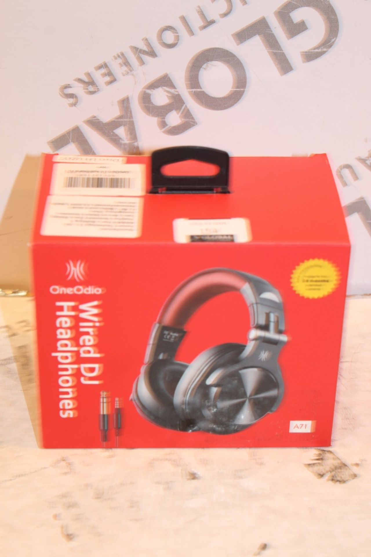 Lot 154 - Boxed One Audio Wireless DJ Headphones RRP £50 (Pictures Are For Illustration Purposes Only)(