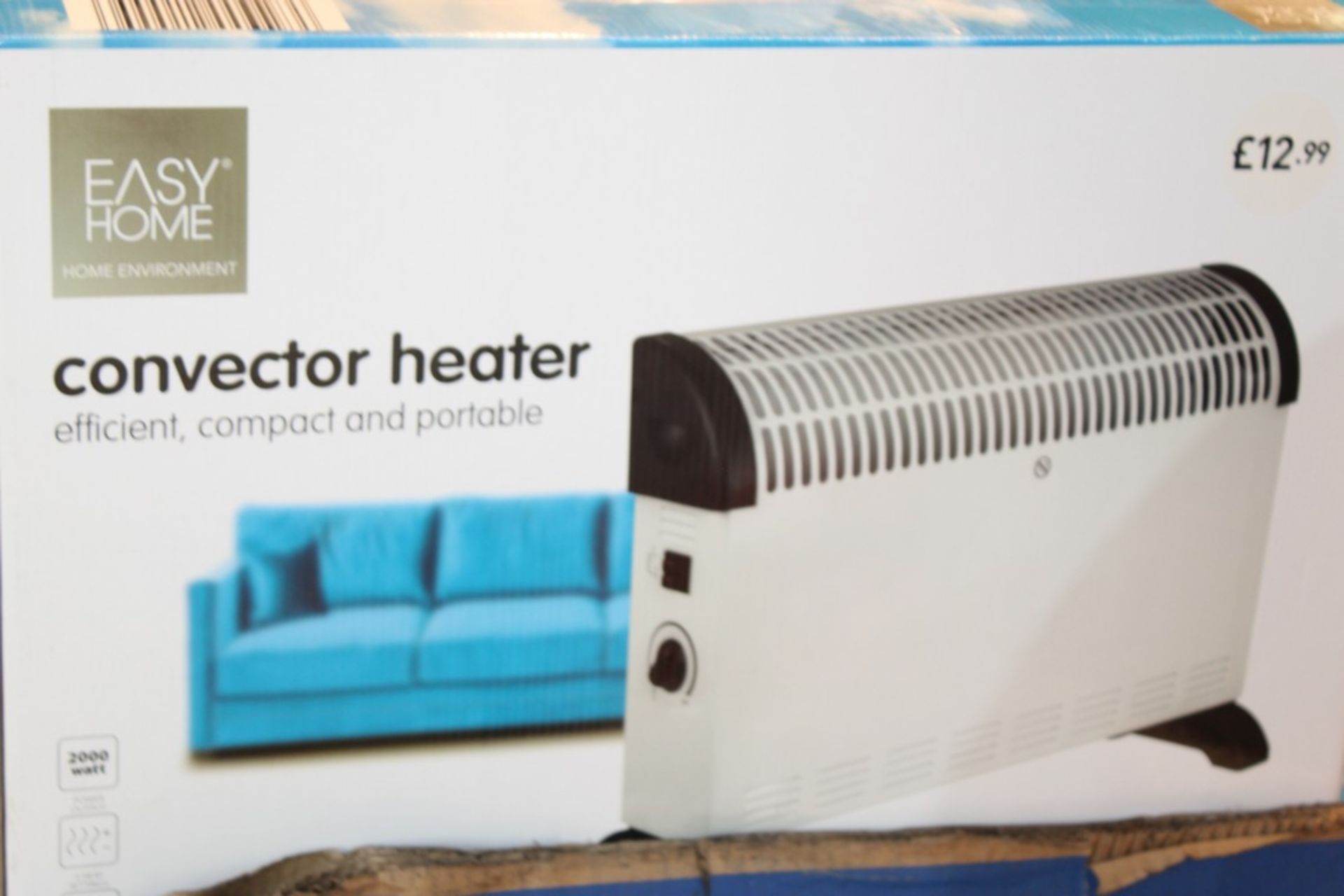 Lot 238 - Boxed Easy Home Efficient Compact & Portable Convector Heater RRP £15 Each (Pictures Are For