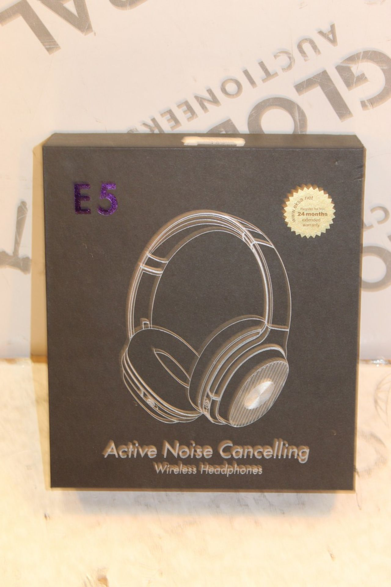 Lot 157 - E5 Headphones RRP £50 (Pictures Are For Illustration Purposes Only)(Appraisals Available Upon