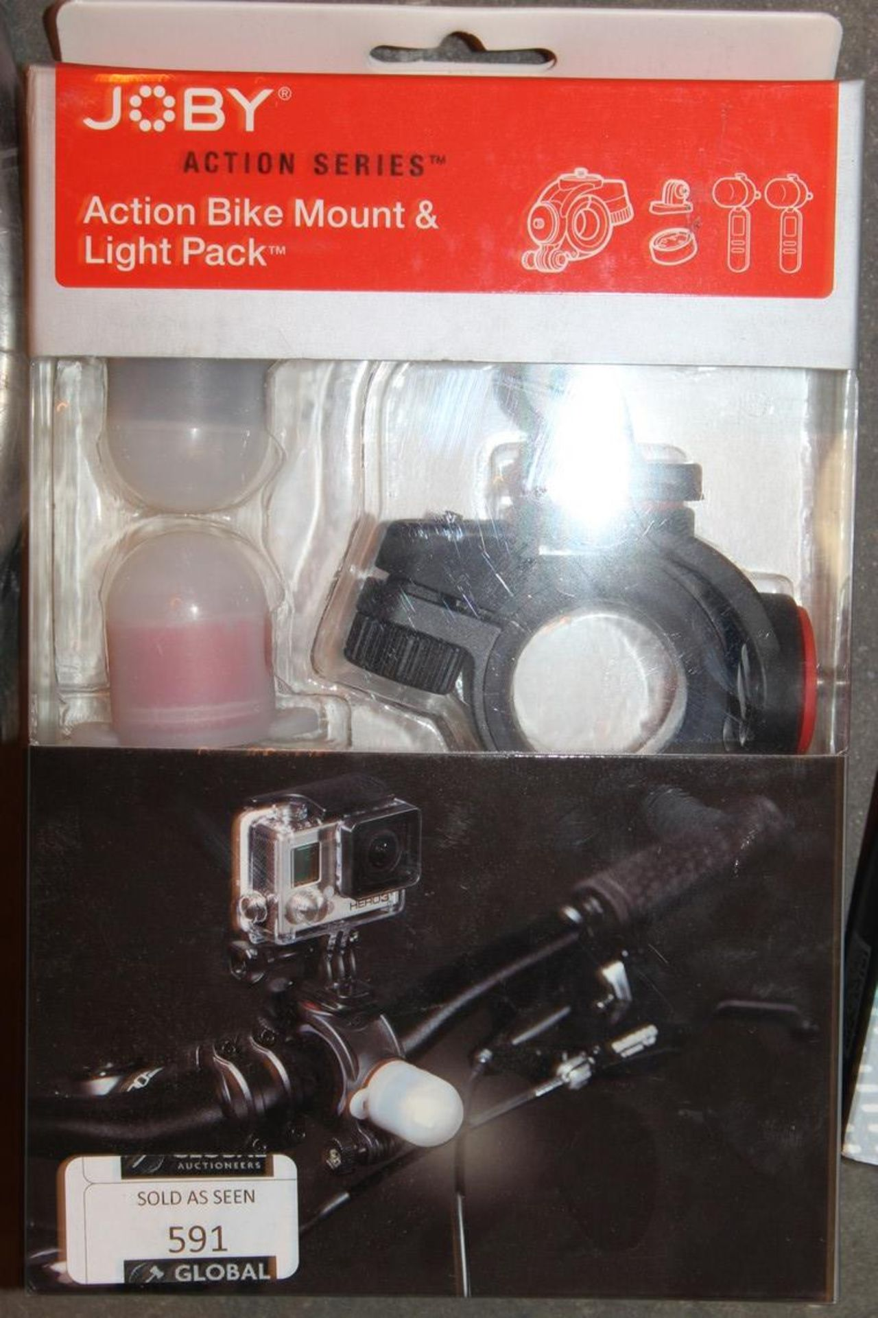 Lot 591 - Boxed Joby Action Series Bike Mount And Light Pack RRP £70 (Pictures Are For Illustration Purposes