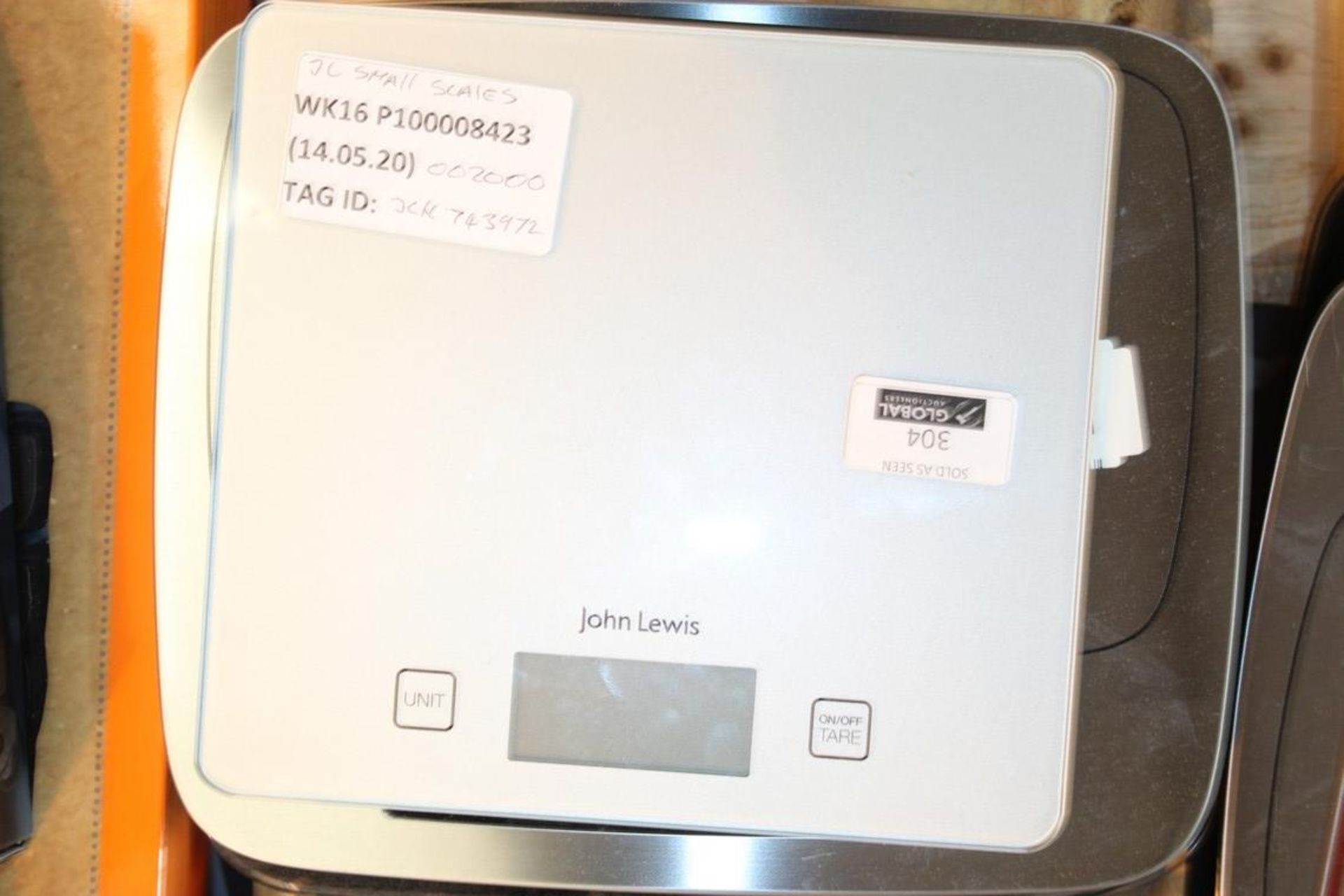 Lot 304 - Pairs Of John Lewis And Partners Digital Weighing Scales To In RRP £10-£20 Each (742398) (744573) (