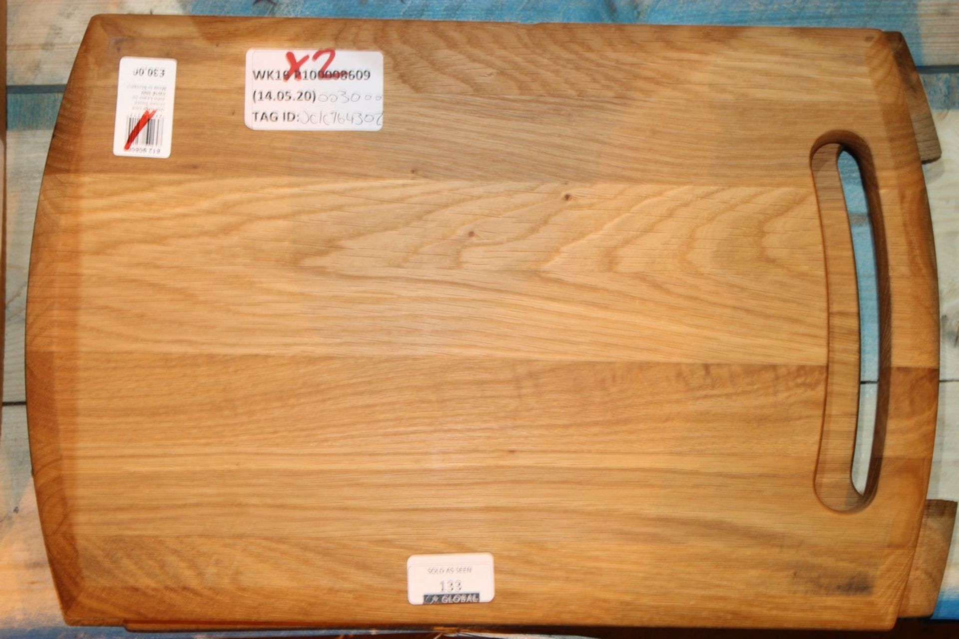 Lot 133 - Solid Wooden John Lewis And Partners Work Surface Protector Chopping Boards RRP £30 Each (764302) (