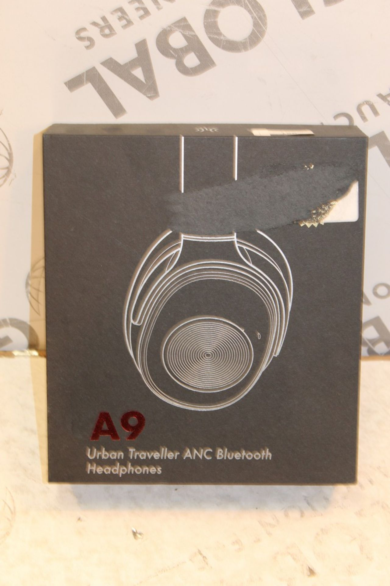 Lot 156 - Boxed A9 Urban Traveller Headphones RRP £55 (Pictures Are For Illustration Purposes Only)(Appraisals