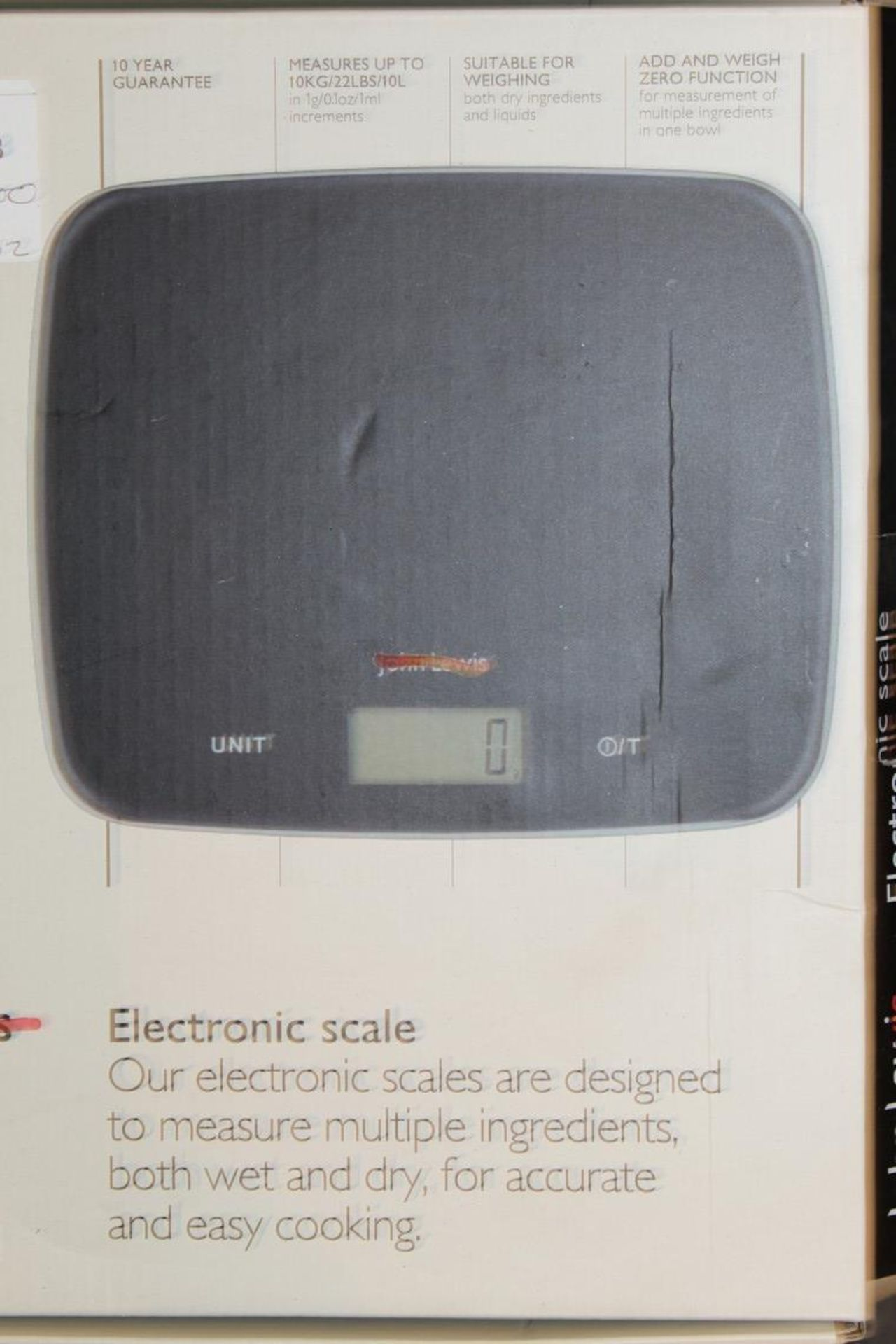 Lot 313 - Boxed Assorted Pairs Of John Lewis And Partners Large Digital Scales RRP £30 Each (745002) (