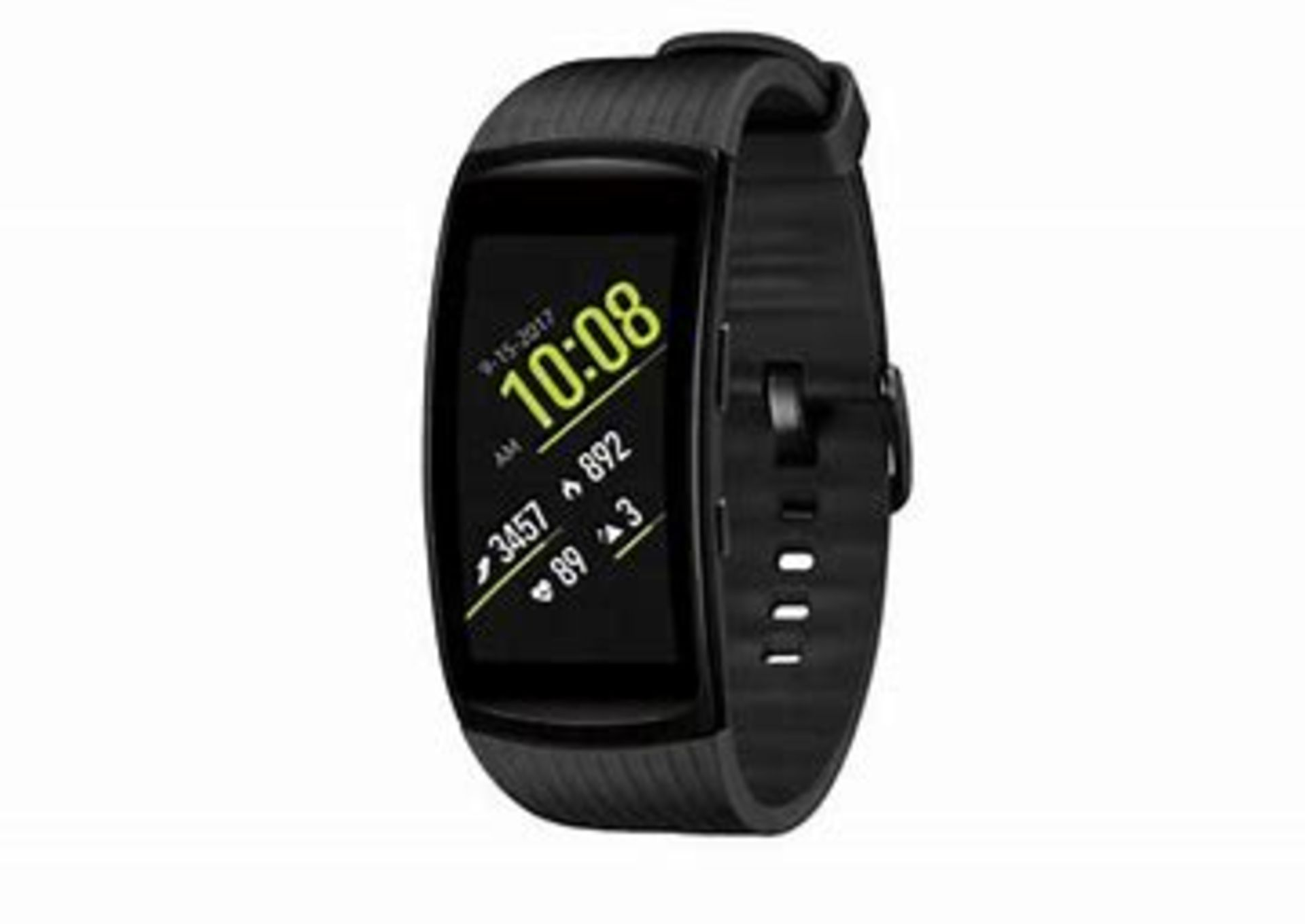 Lot 35 - SM-R365 (Gear Fit2 Pro) Black RRP £225 - Grade A - Perfect Working Condition - (Fully refurbished