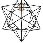 Boxed Darlighting Luanda 3 Light Pendant Light RRP £55 (14601) (Pictures Are For Illustration