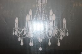 Boxed Globo Lighting 9 Light William Chandelier Style Ceiling Light RRP £115 (Pictures Are For