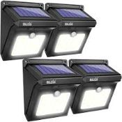 Lot To Contain 2 Boxed Assorted Lighting Items To Include A Smart Ways Solar Light With Motion