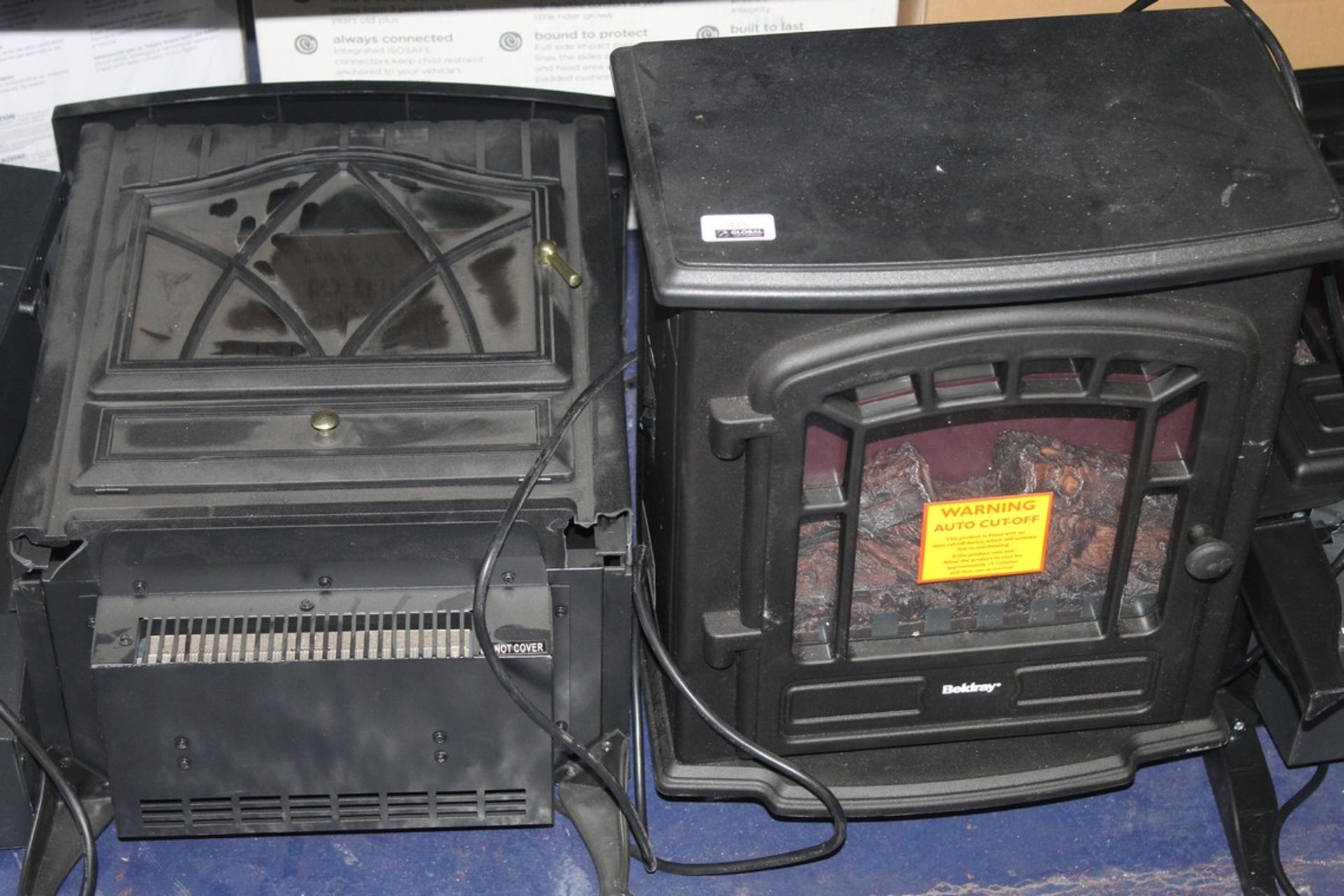 Lot 415 - Assorted Stove Effect Fireplaces & Wall Mounted Fireplaces (In Need Of Attention) RRP £60-70 Each (