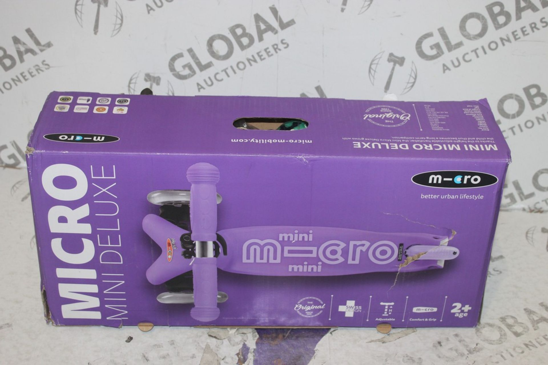 Lot 99 - Boxed Micro Mini Deluxe Scooter RRP £80 (75361803) (Pictures Are For Illustration Purposes Only) (