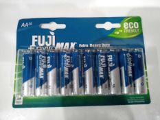 Fuji enviromax extra heavy duty batteries