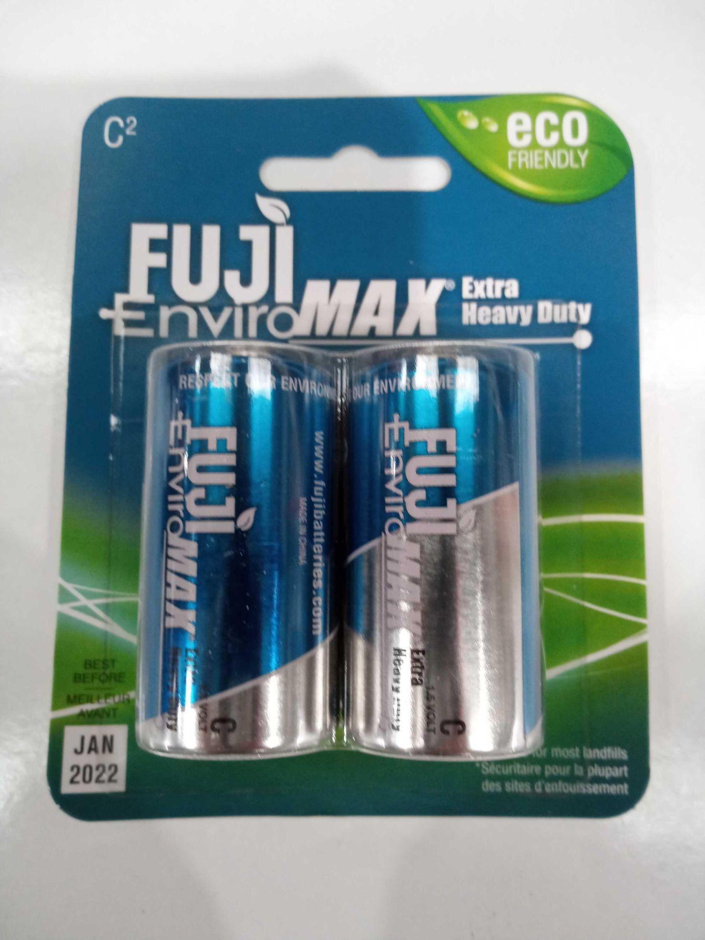 Lot 168 - Fuji Enviro Max C2 Heavy Duty Batteries