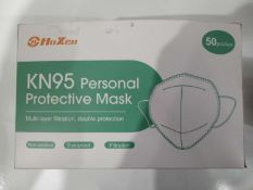 Box of KN95 personal protective masks