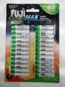 Fuji Enviro Max Super Alkaline AAA Pack Of 24 Batteries