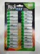 Fuji Envjro Max AA Packs Of 24 Batteries