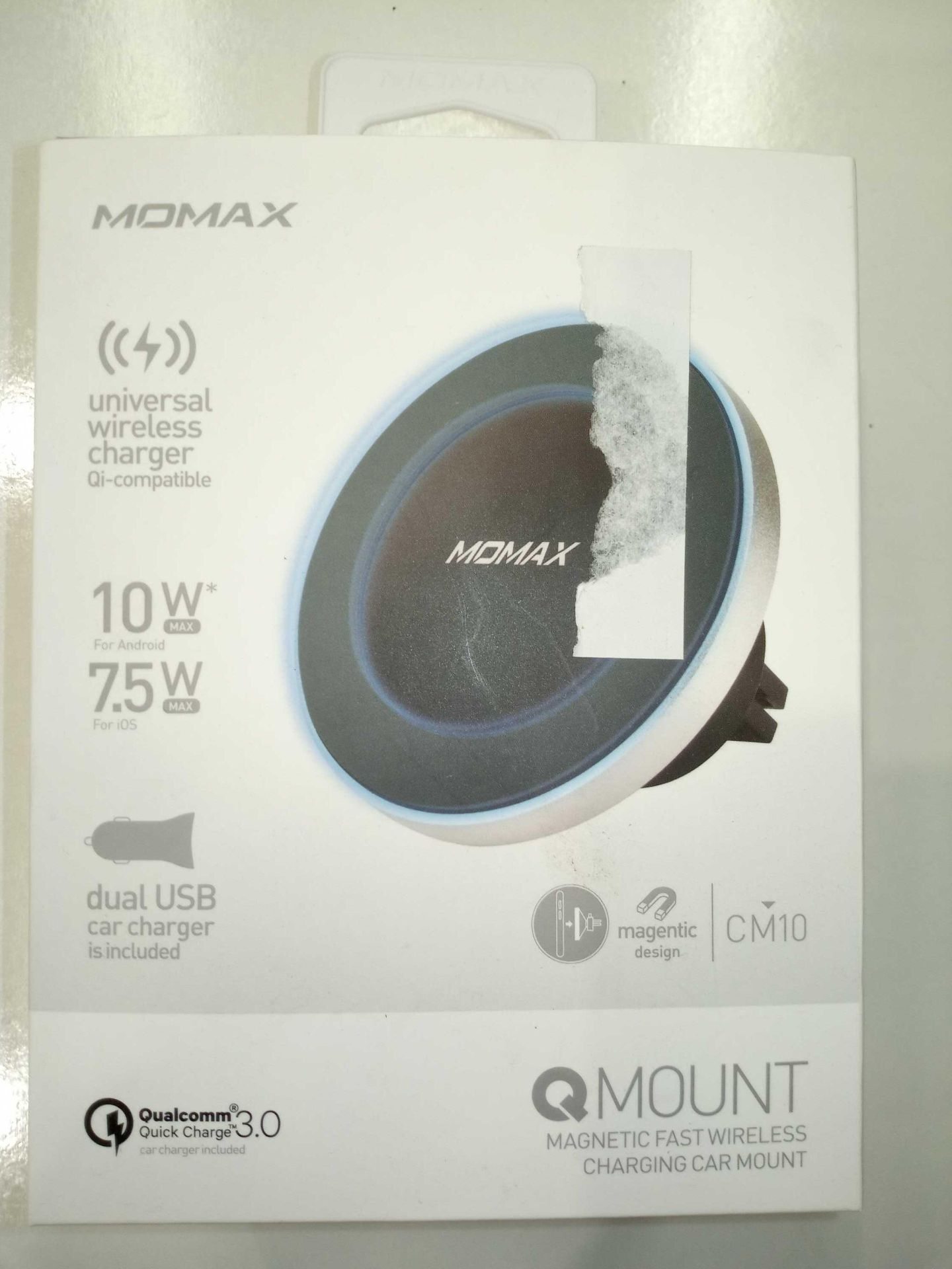 Lot 58 - Momax Mount Wireless Chargers