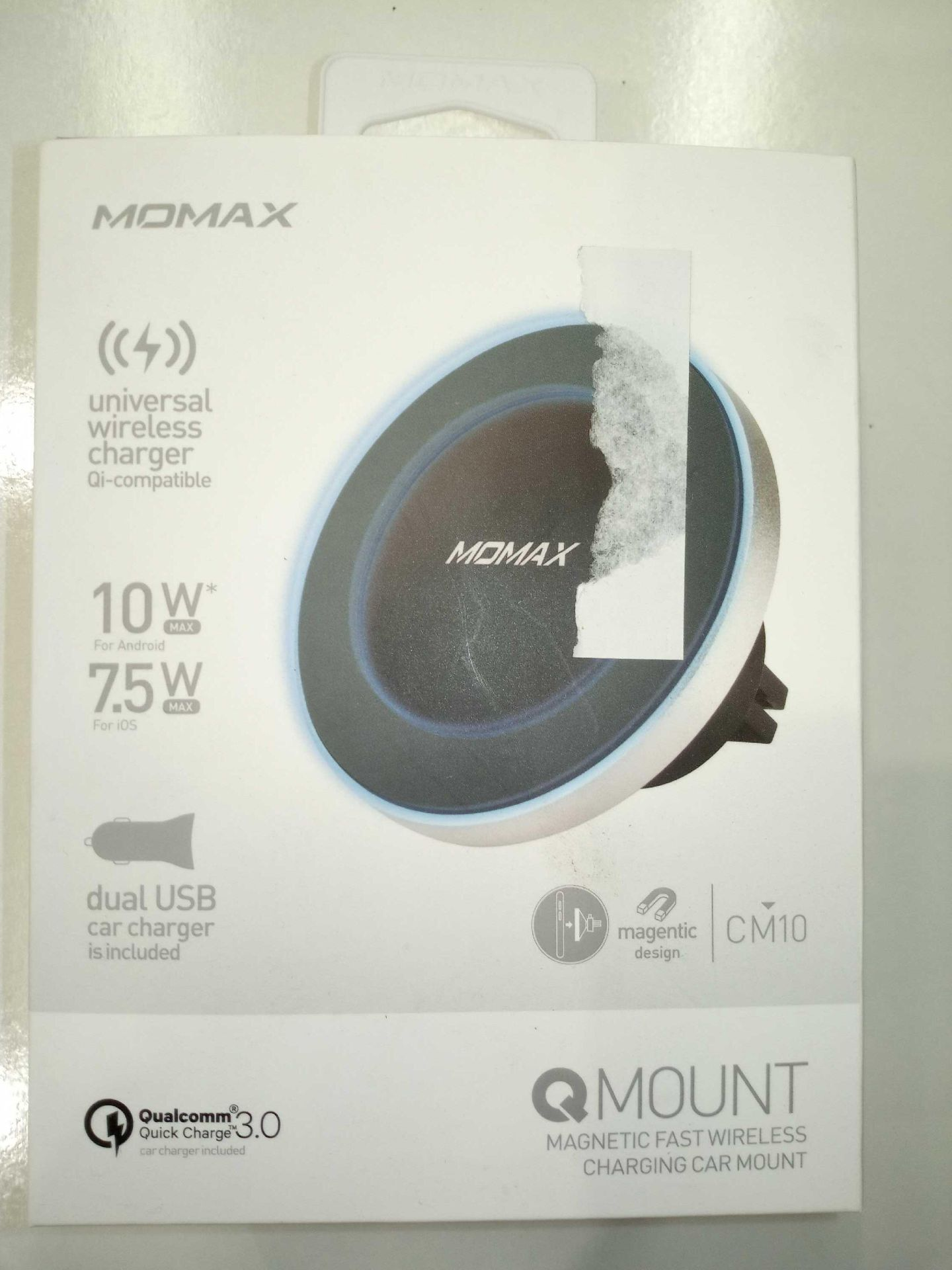 Lot 60 - Momax Mount Wireless Chargers