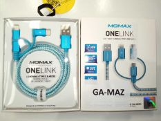 Momax One Link 3in1 Fast Charge Sync Cables
