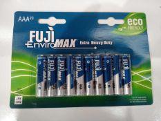 Fuji enviro Max heavy duty batteries