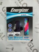 Boxed energizer ultimate car mount with QI wireless fast charging
