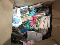 Locked To Contain 50 Assorted Planting Seed Packs