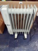 Unboxed oil Filled radiator RRP £50