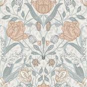 Apelviken floral designer wallpaper