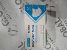 Box to contain 50 teaegg non medical disposable a loop type mask