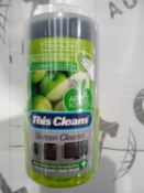 Lot to contain 20 techlink screen cleaners
