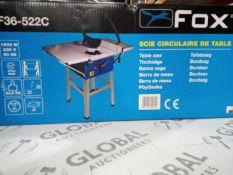 Boxed fox f32-522c circular saw table