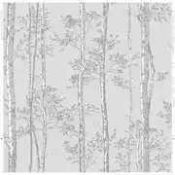 3 Rolls superfresco branches grey wallpaper combined RRP £90