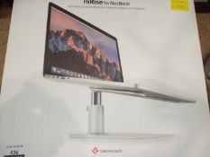 Boxed twelve South high-rise for MacBook adjustable stand for MacBook