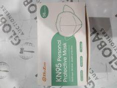 Box of 50 Hoxen kn95 personal protective mask