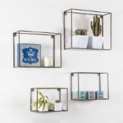Brayden Studio Tillman 4 Piece Wall Shelf