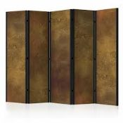 Boxed Williston Forge Channelle Golden Temptation Room Divider RRP £170 (19134) (Pictures Are For