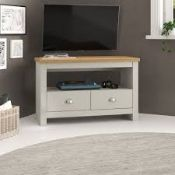 Boxed Zip Code Design Loretta TV Stand RRP £100 (16267) (Pictures Are For Illustration Purposes