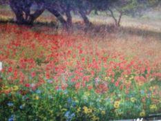 A. Christopher Flower Canvas