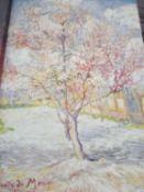 Souvenir Mauve Canvas