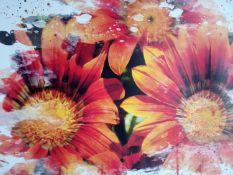 Multi Floral Canvas