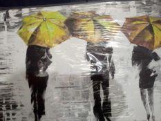 Leonid Afremov Umbrella Canvas