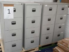 4 Drawer Storage Filing Cabinets