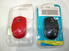 Lot To Contain 5 Rapoo Wireless Mouses In Assorted Colours
