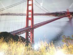 Geramhtes Golden Gate Bridge Wall Art Picture