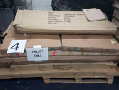 RRP £400 Pallet Of Flat Pack Furniture Partlots
