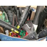 RRP 600 Pallet Of Unboxed Ferrex And Gardenline Leaf Blowers