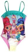 RRP £145 Brand New Assorted Shimmer And Shine Swimsuits