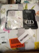 RRP £70 Lot To Contain A Designer Delvale Bedspread