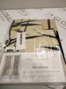 RRP £70 Lot To Contain A Pair Of Designer Curtains
