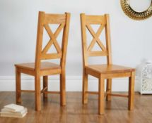 Rrp £100 Set Of 2 Chairs