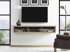 RRP £160 Wall Mounted Tv Stand